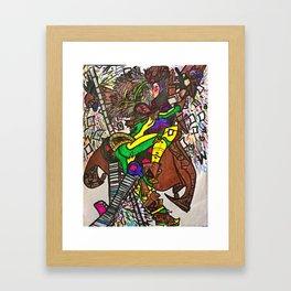 Mutant Lover Framed Art Print