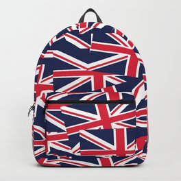 Union Jack Flags Backpack