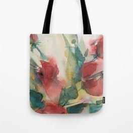 Roses 2 (watercolor) Tote Bag