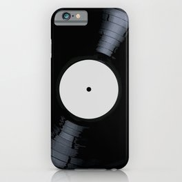 Blank White Label iPhone Case