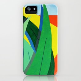 Plantain - Paint iPhone Case
