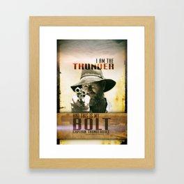 Thunderbolt Movie-I Am The Thunder Framed Art Print