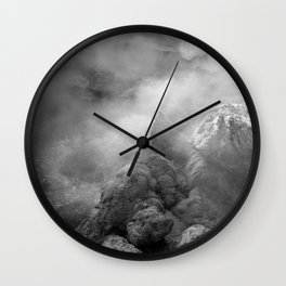 Furnas hotsprings Wall Clock