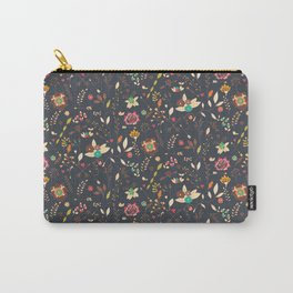 Flower pattern 02 Carry-All Pouch