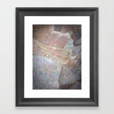 The Kiss of Vanity Framed Art Print