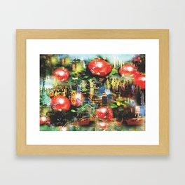 New Apple York Framed Art Print