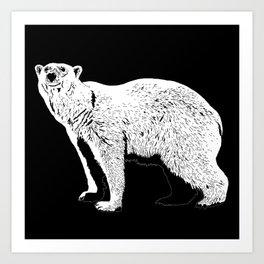 The Last Polar Bear Art Print