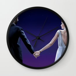 Lovely night Wall Clock