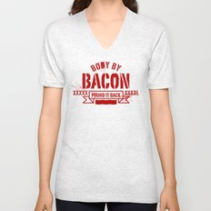 body by bacon Unisex V-Neck