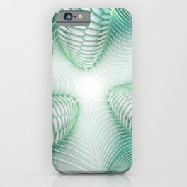 Ghost Busters - fractal - Slime - Lime - Manafold Art iPhone Case