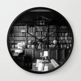 A Novel's Dream Home Wall Clock