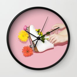 Spring Roll Wall Clock