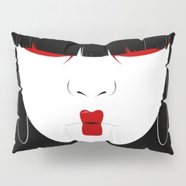 Modern Geisha #2 Pillow Sham