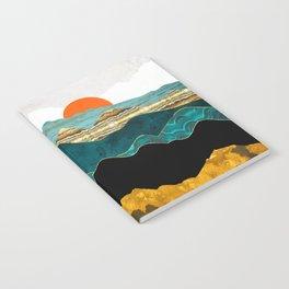 Turquoise Vista Notebook