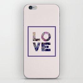 Succulent Uv LOVE #society6 #love #ultraviolet iPhone Skin