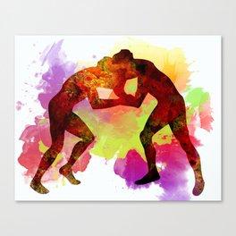 Fight Canvas Print