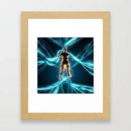 Entangled Framed Art Print