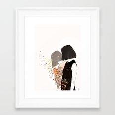 tired soul Framed Art Print