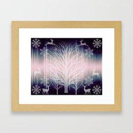 Winter Celestials  Framed Art Print