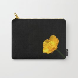 Buttercup Flower Carry-All Pouch