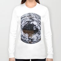 ice Long Sleeve T-shirts featuring Ice by Rose Etiennette