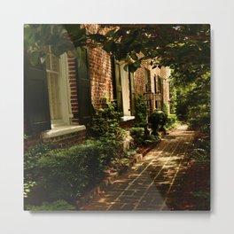 Beautiful Charleston Alley Metal Print