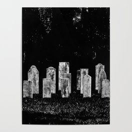 Tombstone Rows Poster