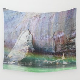Pictured Rocks Wall Tapestry