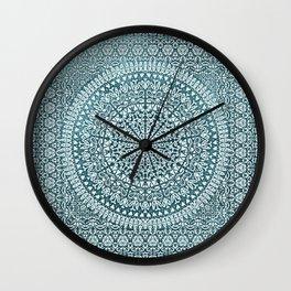 BOHO MANDALA BANDANA Wall Clock