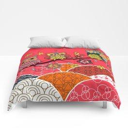 Happy Owls Comforters