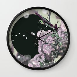 Birth and Death, Day and Night Wall Clock