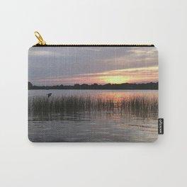 Grass Island Sunset Carry-All Pouch