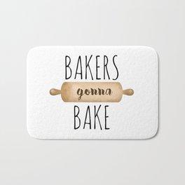 Bakers Gonna Bake Bath Mat