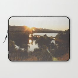 Golden Hour Glow Laptop Sleeve