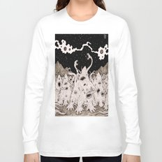 Cosmic horror party Long Sleeve T-shirt