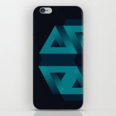 Impossible snowflake iPhone & iPod Skin