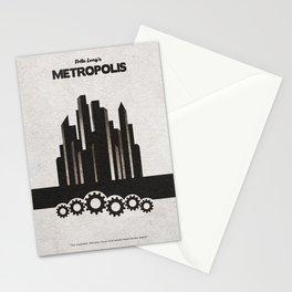 Fritz Lang's Metropolis Alternative Minimalist Poster Stationery Cards