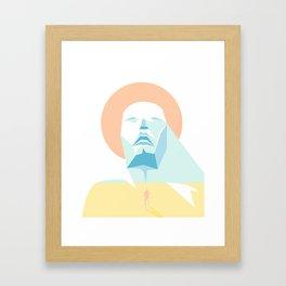 The Sea Inside Framed Art Print