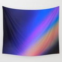 interstellar Wall Tapestries featuring interstellar by Hannah Siegfried