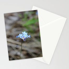 Many Forget-Me-Nots Stationery Cards