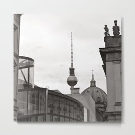 Deutsches Historisches Museum - Teletower - German Dome - Berlin Metal Print