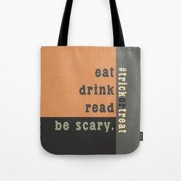 Halloween #trickortreat Tote Bag