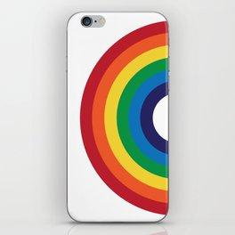 70's Love Rainbow iPhone Skin