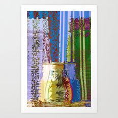 Towers of Byzas Art Print