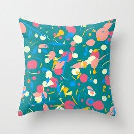 Paint splashes Throw Pillow