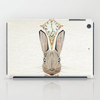rabbit iPad Cases featuring rabbit by Manoou