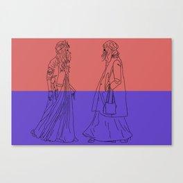 maximum dress Canvas Print
