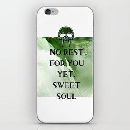 No Rest iPhone Skin
