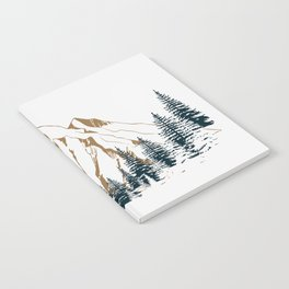 mountain # 4 Notebook