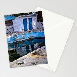 Abandoned Hotel Pool Stationery Cards